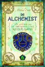 De Geheimen van de Onsterfelijke Nicolas Flamel 1: De Alchemist Boek omslag
