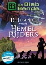 De Bieb-bende 1: De legende van de Hemelrijders Boek omslag