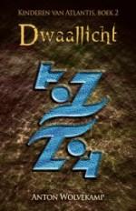 Kinderen van Atlantis 2: Dwaallicht Boek omslag