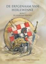 De Erfgenaam van Herlewinne Boek omslag