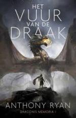 Draconis Memoria 1: Het Vuur van de Draak Boek omslag