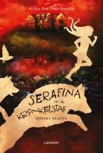 Serafina en de kronkelstaf Boek omslag