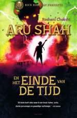 Aru Shah en het einde van de tijd Boek omslag
