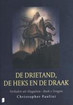 De drietand, de heks en de draak Boek omslag
