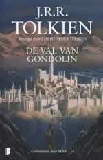 De val van Gondolin Boek omslag
