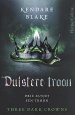 Three Dark Crowns 2: Duistere Troon Boek omslag