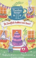 Theekophuisje 2 - De snuffels bakken een taart Boek omslag