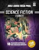 Sccience Fiction Comics Boek omslag