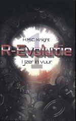 R-Evolutie 1: IJzer in vuur Boek omslag