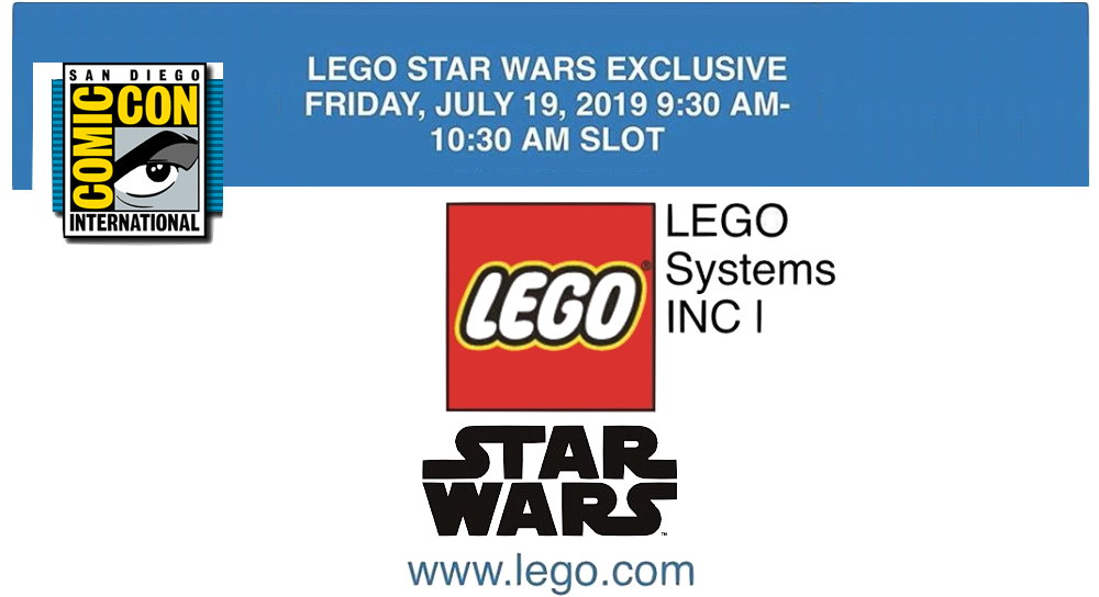 San Diego Comic Con Lego Star Wars Exclusive Coming To Sdcc