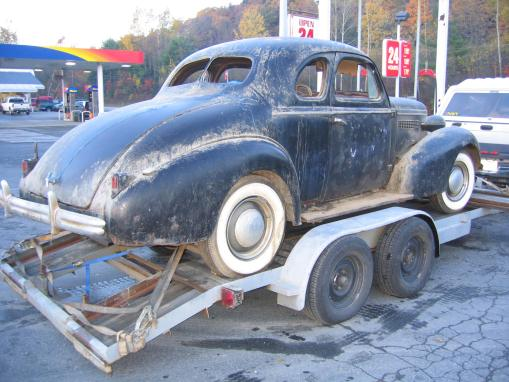 1937 Buick Sport Coupe Model 46
