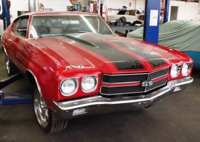 1970 Chevrolet Chevelle (Red)