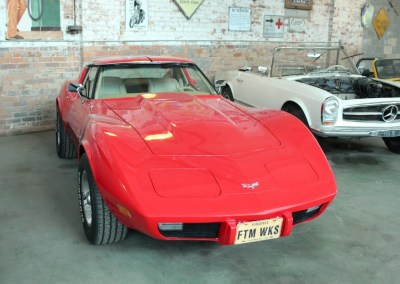 1977 Chevrolet Corvette (Red)