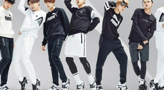 BTS se une a Puma como embajador global