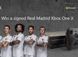 Xbox crea junto al Real Madrid una Xbox One X