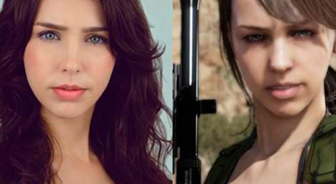 """Stefanie Joosten,""""Quiet"""" de Metal Gear Solid V estará en FestiGame"""