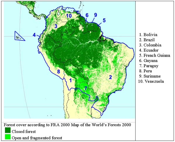 The jaguar also plays a key role in stabilizing ecosystems. Chapter 43 Tropical South America