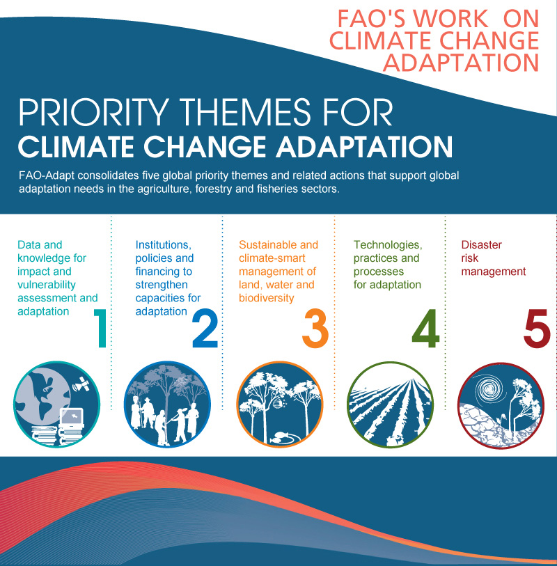 Priority Themes for Climate Change Adaptation