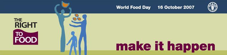 World Food Day 2007