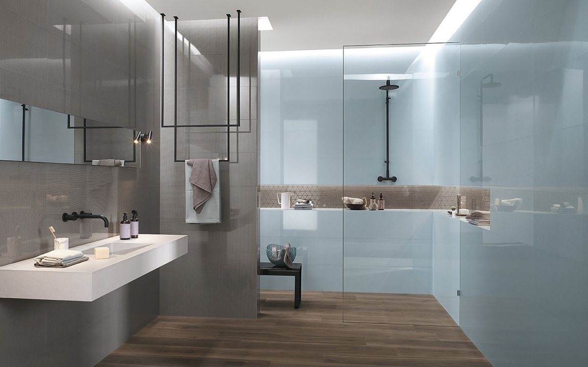 how to clean bathroom tiles in few