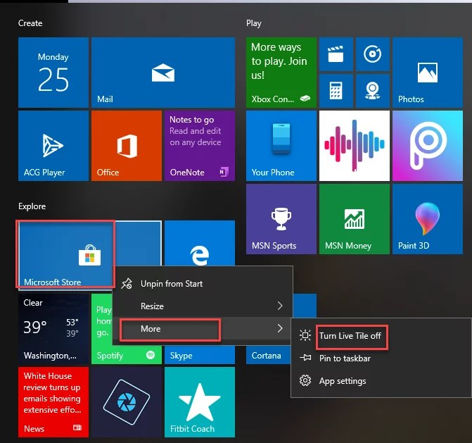 disable all of the built in windows 10 ads