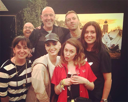Katy Perry y Chris Martin juntos en Glastonbury?