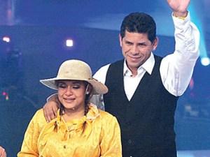 """""""El Puma"""" Carranza, Jesús Neyra , Cindy Tello, Gisela Valcárcel , Roberto Martínez"""