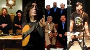 Collective Soul, El Gran Combo de Puerto Rico, Mike Herrera, Luis Salinas