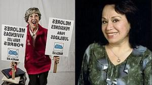 Elvira de la Puente, Haydée Cáceres, Claudia Sacha
