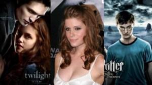 Crepúsculo, Harry Potter, Emma Watson, Robert Pattinson, Kristen Stewart