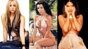 Shakira, Salma Hayek, Eva Longoria