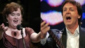 Paul McCartney, Susan Boyle