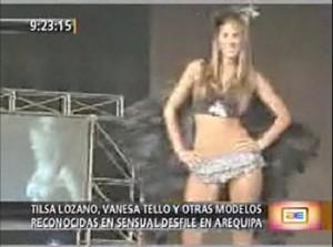 Delly Madrid, Tilsa Lozano, Claudia Portocarrero, Kiara Castillo