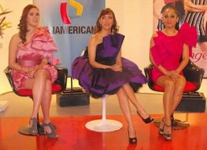 Milene Vásquez, Ebelyn Ortiz, Emilia Drago