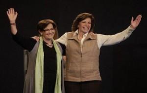 Mónica Cabrejos, Lourdes Flores Nano, Susana Villarán