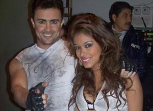 Óscar Gayoso, Shirley Arica
