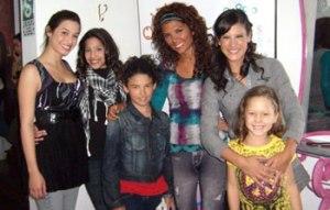 María Pía Copello, Thalía Estrabidis , Natalia Salas , Los Jonas Brothers , Demi Lovato
