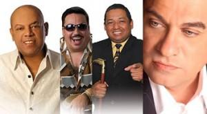 Tony Vega, Joe Arroyo, David Pabón