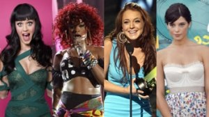 Lindsay Lohan, Rihanna, Katy Perry, Ashley Greene