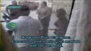 Magaly Medina, Augusto Polo Campos, Florcita, Néstor Villanueva, Marco Polo