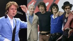 Rolling Stones, Beatles