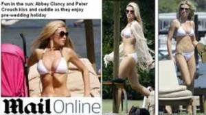 Peter Crouch, Abbey Clancy, Abigail Clancy
