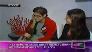 Melania Urbina, Andrés Wiese