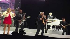 Rod Stewart, Concierto, Explanada del Estadio Monumental