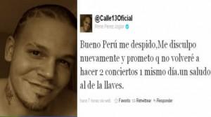 Calle 13, René Pérez, Estadio San Marcos