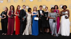 Premios SAG, The Descendants, The Artist, The Help, George Clooney, Meryl Streep, Sofía Vergara, Glenn Close