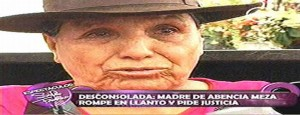 Abencia Meza  ,  Josmel Lugo  ,  Mercedes Luna