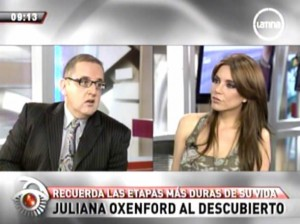 Juliana Oxenford , Marcelo Oxenford , Lucía Oxenford