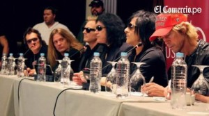 Guns N' Roses , Black Sabbath , Conciertos 2012 , Rock and Roll All Stars , Sebastian Bach , Gene Simmons , Matt Sorum , Duff McKagan , Gilby Clarke , Joe Elliot , Billy Duffy , Steve Stevens , Glen Hughes