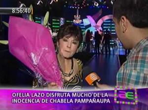 Ofelia Lazo , Al Fondo Hay Sitio